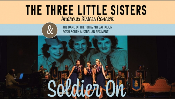 NOV 9 & 10 - The Three Little Sisters & the Band of the 10th/27th Battalion